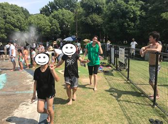 兵庫県尼崎市 わんぱく池